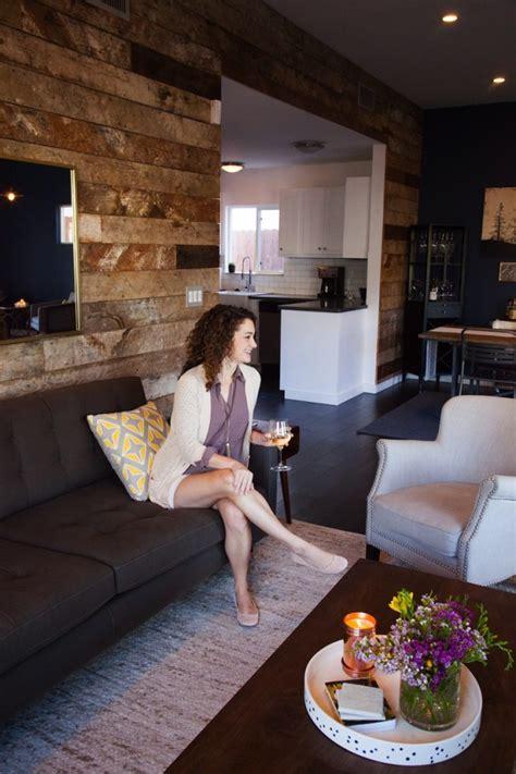 Sneak A Peek // Kate's Industrial Chic Living Room - The