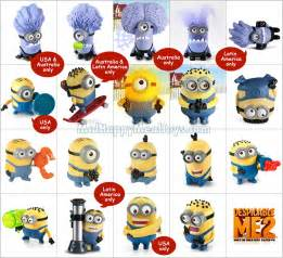 Despicable Me Minion Happy Meal Toys