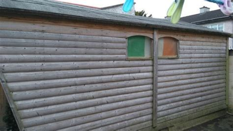16ftx 12ft Ballyfree Garden Chalet Shed For Sale in Cabra