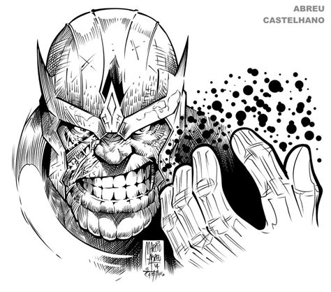 disegni da colorare thanos thanos coloring sheet coloring pages