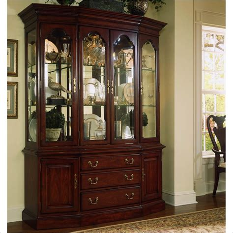cherry kitchen island cart cherry grove canted china cabinet 792 830r