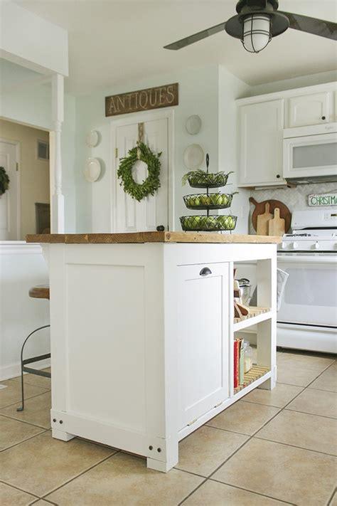 kitchen island with trash bin build a beautiful kitchen island with a tilt out trash bin