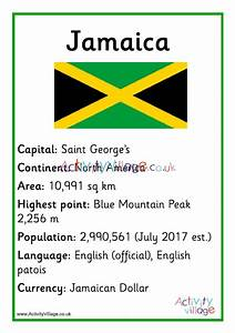 Jamaica Facts Poster