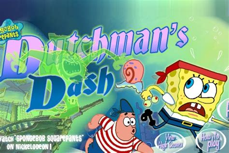 Spongebob Squarepants Dutchman Dash Game