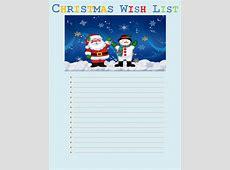 Wish List Template New Calendar Template Site