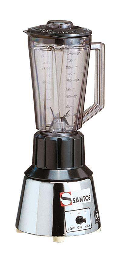 blinder cuisine blender mixer de bar n33 c socle chrom santos vente sur