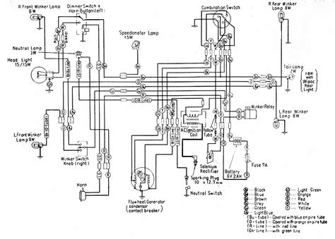 1977 Honda Ct70 Wiring Diagram by Category Honda Wiring Diagram Page 5 Circuit And
