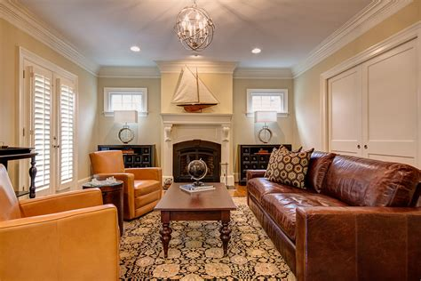 living room decor with leather sofa elegant living room decorating ideas with brown leather