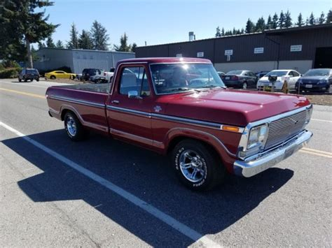 One Owner Ford F150 1977 Ranger Xlt Fully Restored For