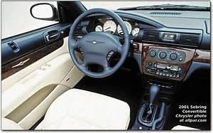 Chrysler Sebring Coupe Convertible 25l V6