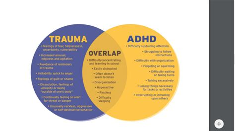 Diagram Of Adhd by Is It Adhd Or Child Traumatic Stress A Guide For