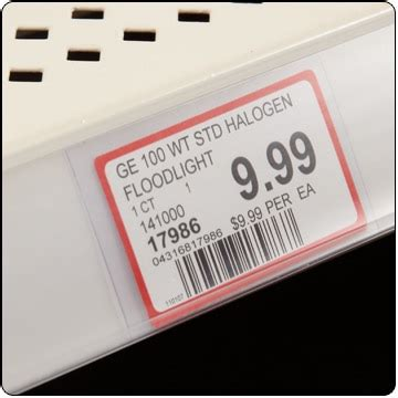 retail shelf sign holders label holders dgs retail