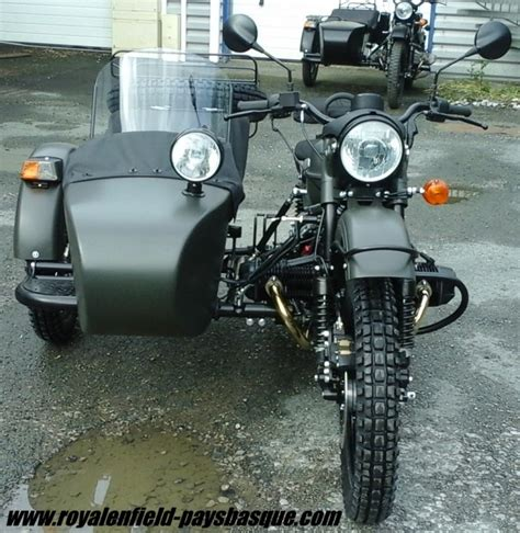 ural ranger 171 royal enfield pays basque