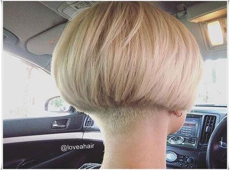 pin  barbara clement  haircuts rasierter nacken