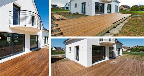 terrasse exterieure en bois terrasse en bois la baule gu 233 rande nazaire