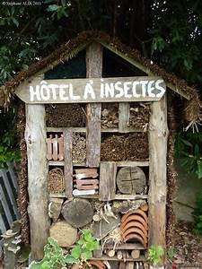 Nichoir A Insecte : htel insectes version 3 jardin pdagogique du guelmeur ~ Premium-room.com Idées de Décoration