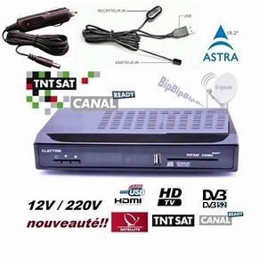 Decodeur Tnt Hd Electro Depot : recepteur tntsat 12 v pas cher ~ Dailycaller-alerts.com Idées de Décoration