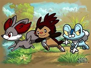 Pokemon Kalos Starters Names Images | Pokemon Images