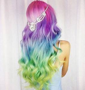 1000 ideas about Neon Hair Color on Pinterest