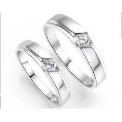 affordable wedding bands inexpensive his and couples wedding ring bands with cz on silver sale jewelocean