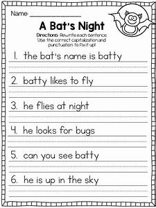 Capita letter worksheets printable activity shelter for Capital letters lesson plans first grade