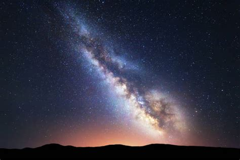 Top Milky Way Galaxy Stock Photos Pictures Images