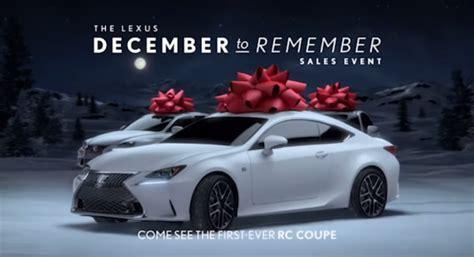 lexus bow cadillac christmas commercial actress html autos post