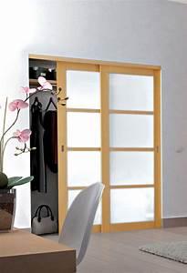 Guide Pour Porte Coulissante : les portes coulissantes le guide de la maison ~ Dailycaller-alerts.com Idées de Décoration