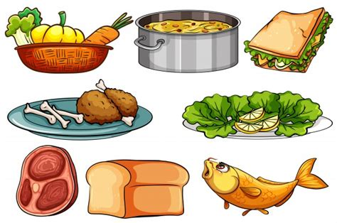 different types of cuisine snack vectors photos and psd files free