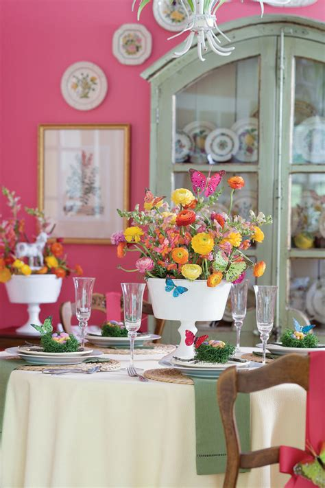 Garden Southern Setting by Table Settings And Centerpieces Southern Living