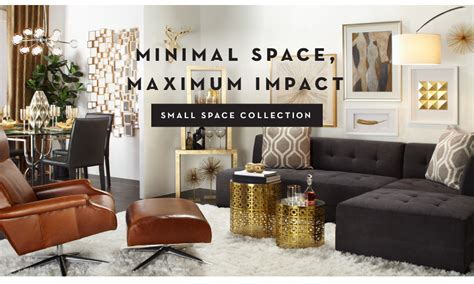 furniture for small spaces z gallerie