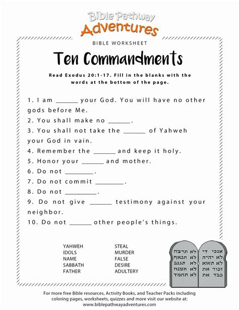 bible worksheets    complete kittybabylovecom