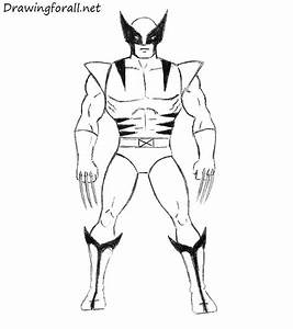 How To Draw Wolverine Easy Want To Draw Pinterest Comic