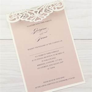 josephine evening invitation pure invitation wedding invites With josephine laser cut wedding invitations