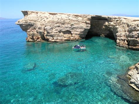 Koufonisia Island In Cyclades Islands Sandy Beaches And