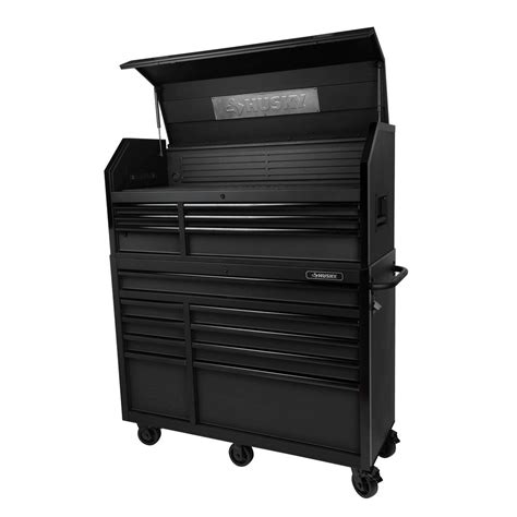 husky tool storage cabinets husky 52 in w 20 in d 15 drawer tool chest and cabinet