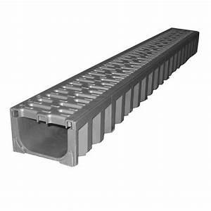 6 6 En Cm : caniveau aco et grille plastique 12 6x7 6 cm en 1 ml ~ Dailycaller-alerts.com Idées de Décoration