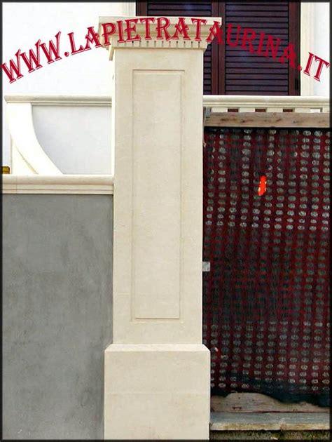 Ingressi In Pietra - colonne in pietra per cancelli ingressi porte la