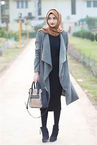 Hijab moderne pour femme voilu00e9e - Les tendances mode de lu0026#39;automne 2016 - Mode Islam