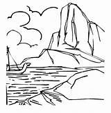 Iceberg Coloring Sheets Sailor Template Pony Frozen Passing Brave Fun Doghousemusic Bulk Oeppna sketch template