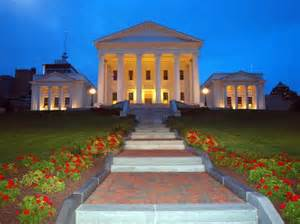 Virginia State Capitol Building in Richmond VA