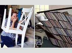 Attempts to assemble flat pack furniture result in DIY