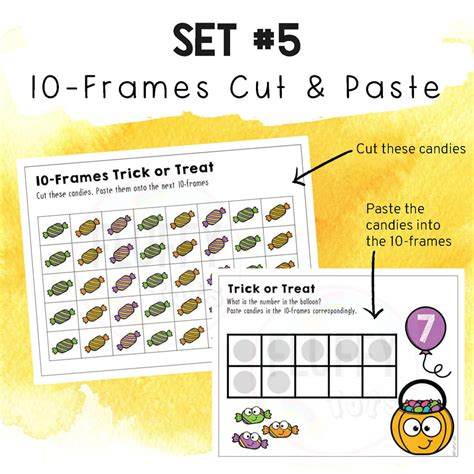 halloween math counting    fluffytots store