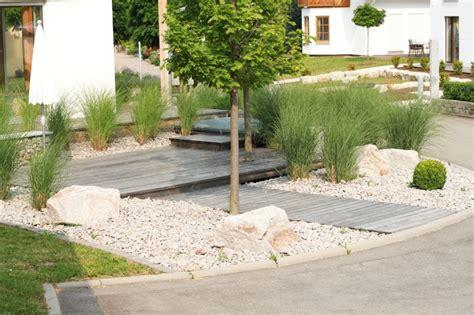 Moderner Garten Mit Steinen by Gartengestaltung Mit Steinen Ideen Dr Garten
