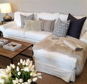 pillow arrangement on sectional sofa google search for With sectional sofa placement
