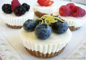 No Bake Mini-Cheesecakes (GF) | Happy Wives Club