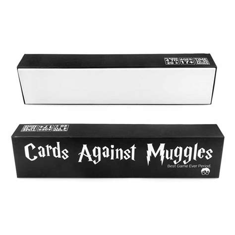 Looking to enchant your friends with the magic of harry potter in a hilarious new way? Cards Against Muggles Harry Potter themed Party Game 170118013 - $59.99 : micsupplies.com