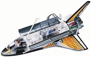 4D-Vision Space Shuttle Model
