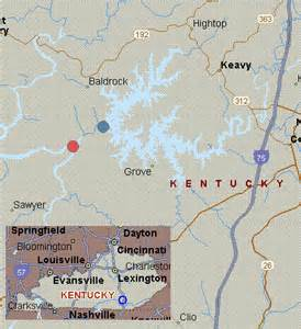 Laurel River Lake KY Map