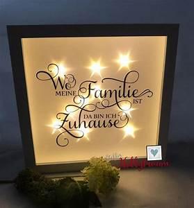 Weißer Weihnachtsbaum Mit Beleuchtung : wei er bilderrahmen mit integrierter lichterkette und einem spruch siehe foto auf effektfolie ~ Eleganceandgraceweddings.com Haus und Dekorationen